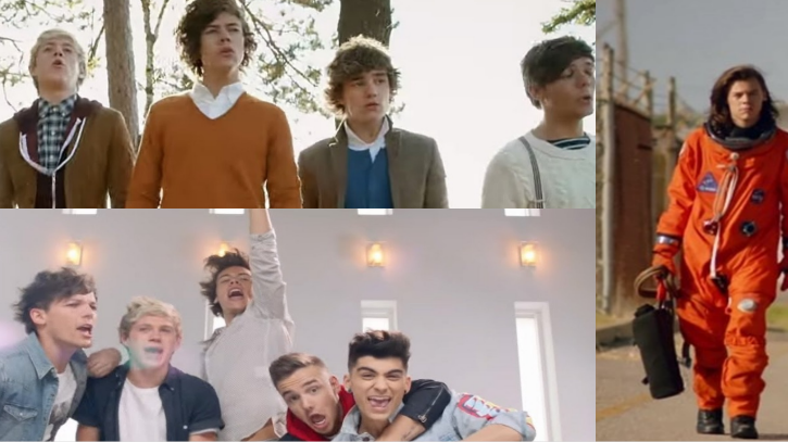 Can You Guess Which 1D Music Video Are These Close-Ups From?